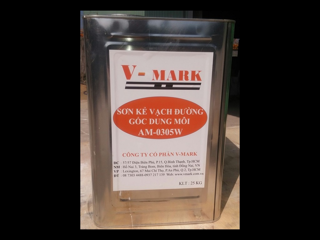 V-MARK SOLVENTBORNE PAINT